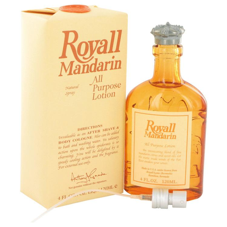 Royall Mandarin by Royall Fragrances All Purpose Lotion / Cologne for Men - Oliavery