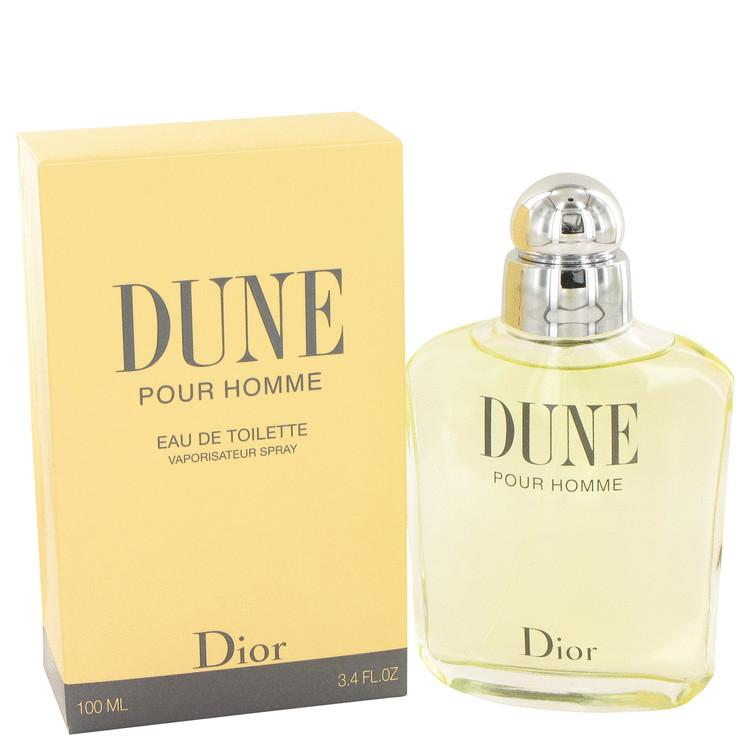 DUNE by Christian Dior Eau De Toilette Spray 3.4 oz for Men - Oliavery