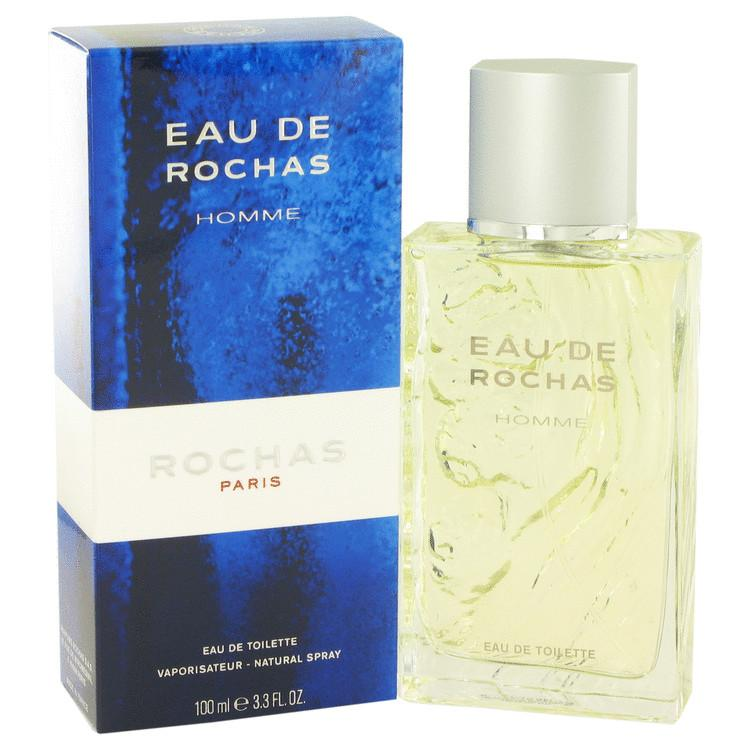 EAU DE ROCHAS by Rochas Eau De Toilette Spray 3.4 oz for Men - Oliavery