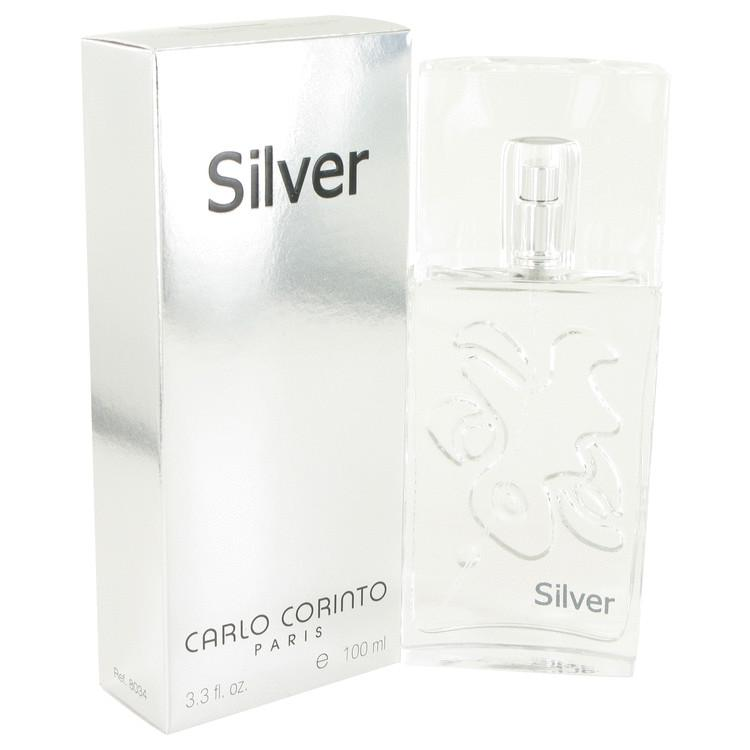 CARLO CORINTO SILVER by Carlo Corinto Eau De Toilette Spray 3.4 oz for Men - Oliavery