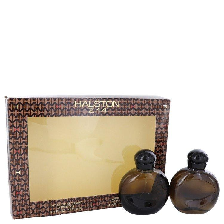 HALSTON Z-14 by Halston Gift Set -- 4.2 oz Cologne Spray + 4.2 oz After Shave + In Display Box for Men - Oliavery