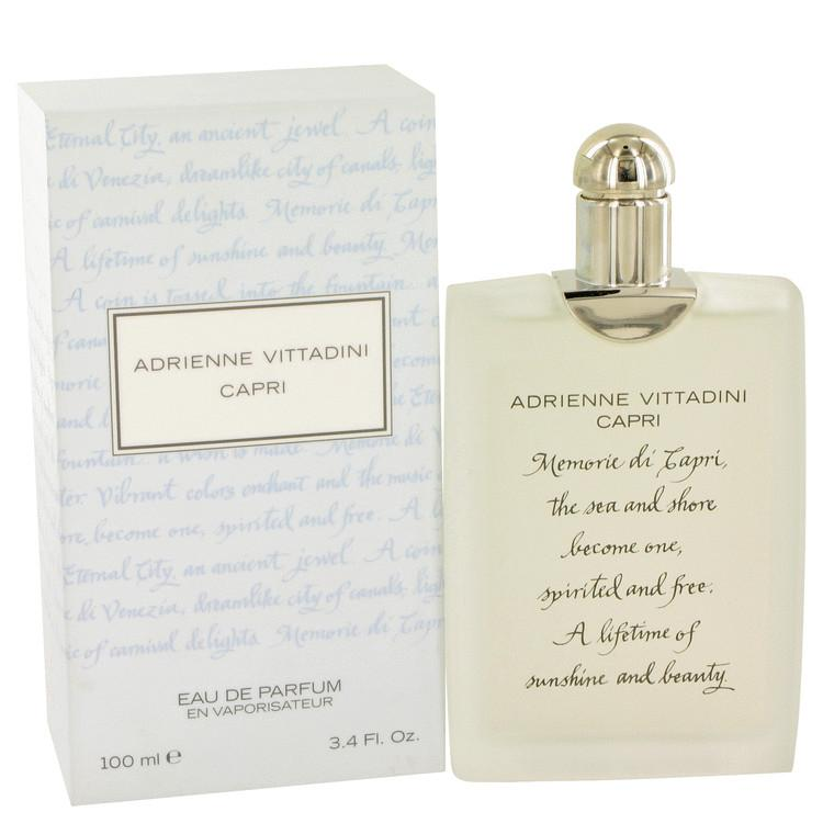 Capri by Adrienne Vittadini Eau De Parfum Spray 3.4 oz for Women - Oliavery