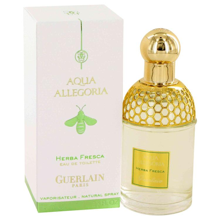 AQUA ALLEGORIA HERBA FRESCA by Guerlain Eau De Toilette Spray (Unisex) 2.5 oz for Women - Oliavery