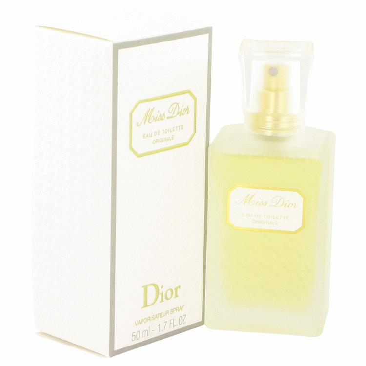 MISS DIOR Originale by Christian Dior Eau De Toilette Spray 1.7 oz for Women - Oliavery