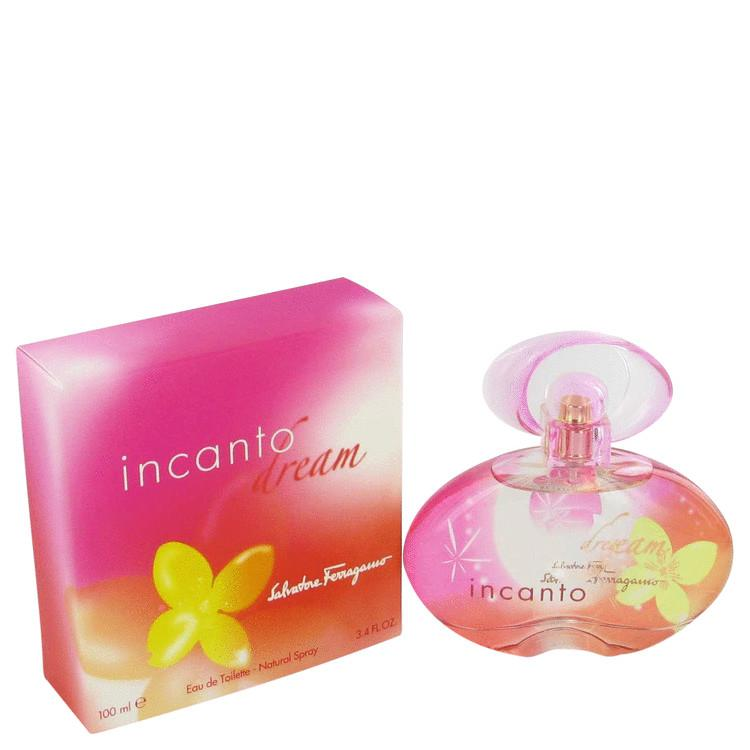 Incanto Dream by Salvatore Ferragamo Eau De Toilette Spray 1.7 oz for Women