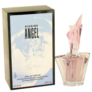 Angel Peony by Thierry Mugler Eau De Parfum Spray Refillable .8 oz for Women - Oliavery