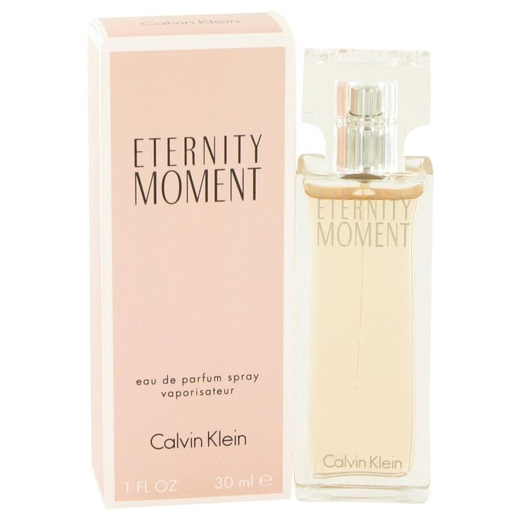 Eternity Moment by Calvin Klein Eau De Parfum Spray 1 oz for Women - Oliavery