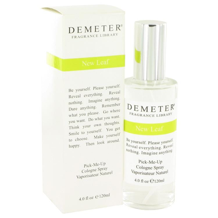 Demeter New Leaf by Demeter Cologne Spray 4 oz for Women - Oliavery