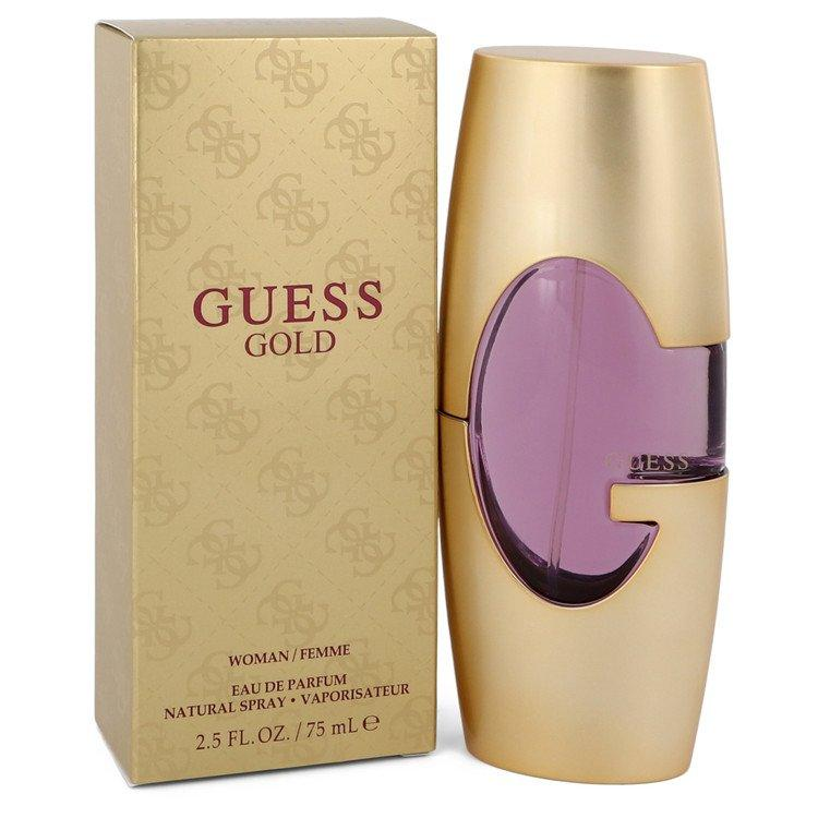 Guess Gold by Guess Eau De Parfum Spray 2.5 oz for Women - Oliavery