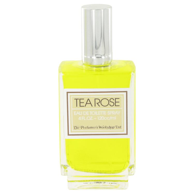 TEA ROSE by Perfumers Workshop Eau De Toilette Spray (unboxed) 4 oz for Women - Oliavery