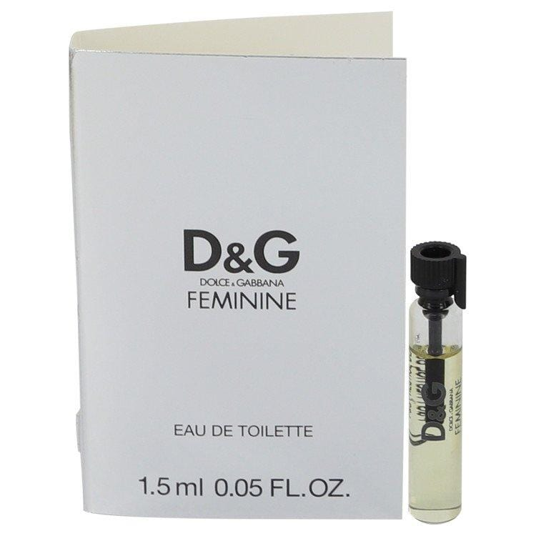 FEMININE by Dolce & Gabbana Vial (sample) .05 oz for Women