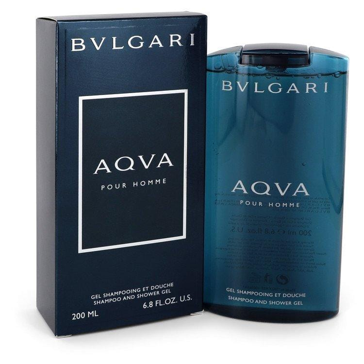AQUA POUR HOMME by Bvlgari Shower Gel 6.8 oz for Men - Oliavery