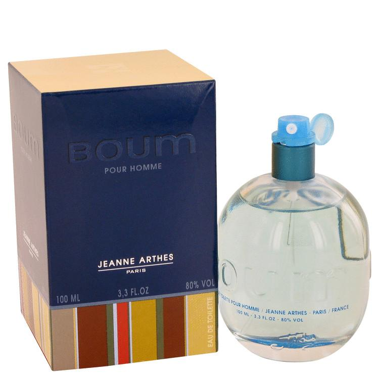 Boum by Jeanne Arthes Eau De Toilette Spray 3.3 oz for Men - Oliavery
