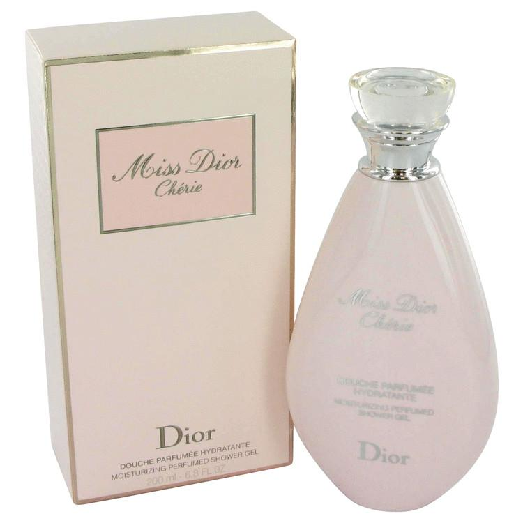 Miss Dior (Miss Dior Cherie) by Christian Dior Shower Gel 6.8 oz for Women - Oliavery