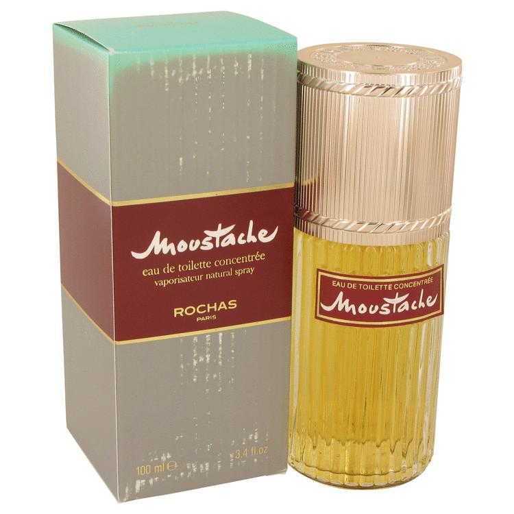 MOUSTACHE by Rochas Eau De Toilette Concentree Spray (Damaged Box) 3.4 oz for Men