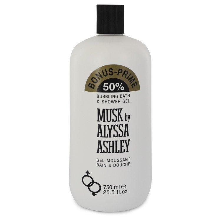 Alyssa Ashley Musk by Houbigant Shower Gel 25.5 oz for Women - Oliavery