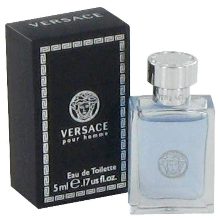 Versace Pour Homme by Versace Mini EDT .17 oz for Men - Oliavery
