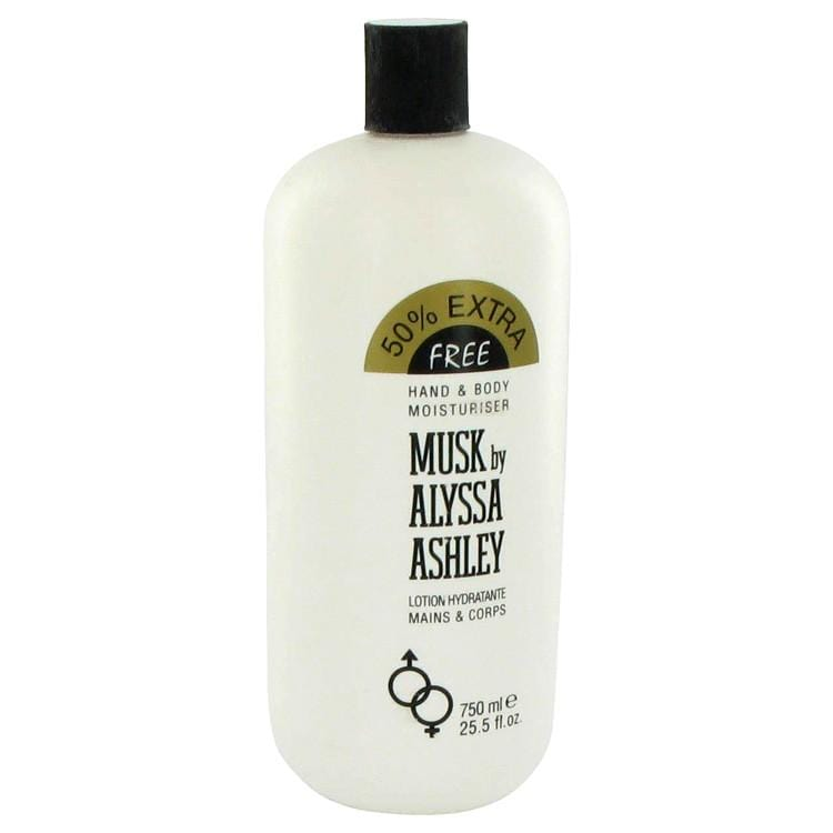 Alyssa Ashley Musk by Houbigant Body Lotion 25.5 oz for Women - Oliavery