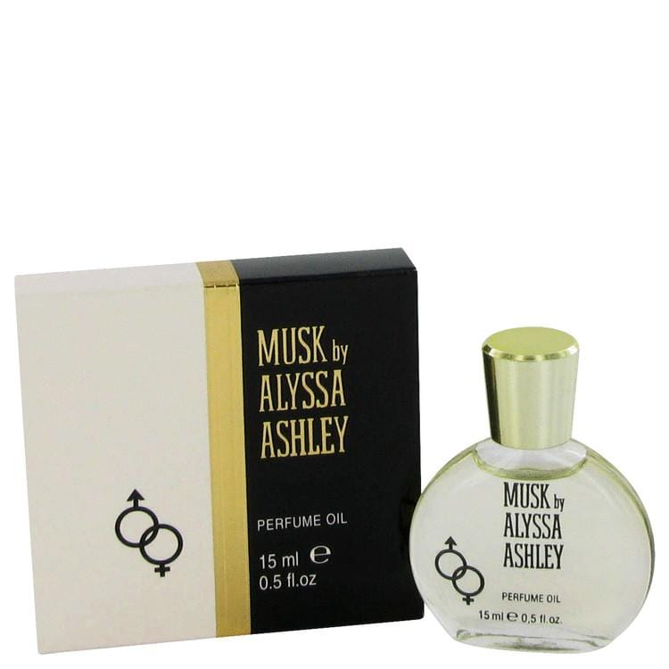 Alyssa Ashley Musk by Houbigant Perfumed Oil .5 oz for Women - Oliavery