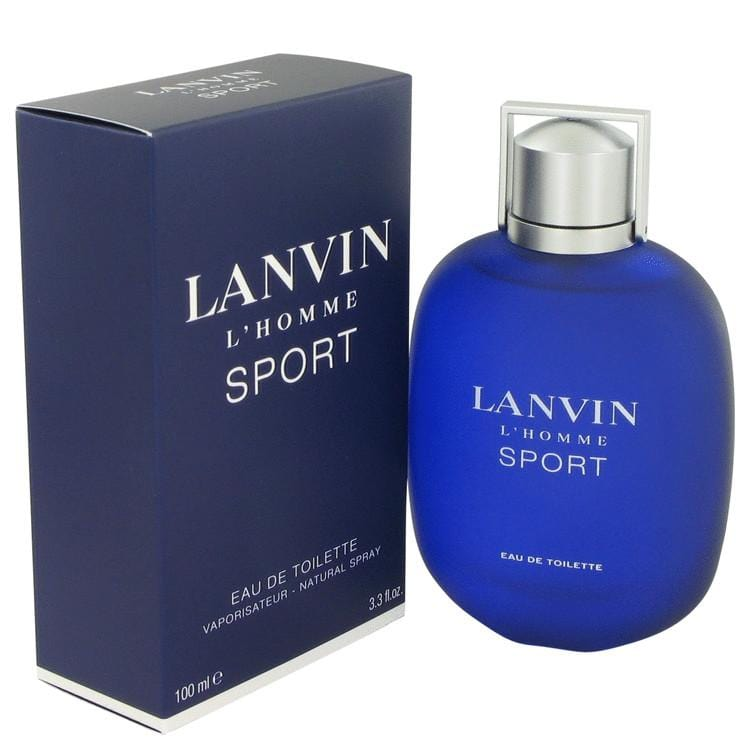 Lanvin L'homme Sport by Lanvin Eau De Toilette Spray 3.3 oz for Men - Oliavery