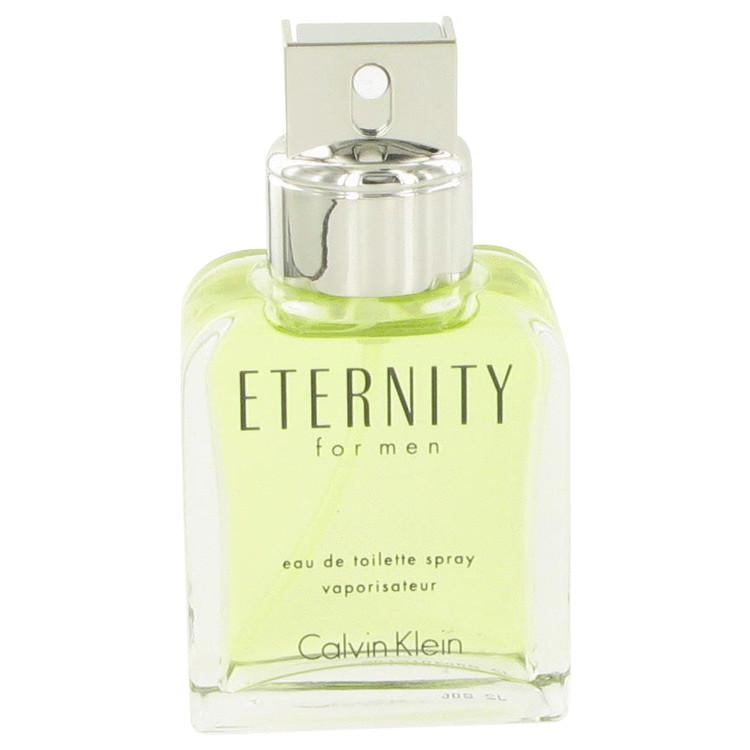 ETERNITY by Calvin Klein Eau De Toilette Spray (unboxed) 1.7 oz for Men