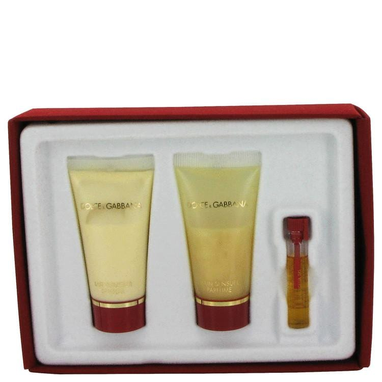 DOLCE & GABBANA by Dolce & Gabbana Vial (Sample) + 1-2 oz Shower Gel and 1-2 oz Body Lotion .05 oz for Women