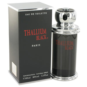 Thallium Black by Yves De Sistelle Eau DeToilette Spray 3.3 oz for Men - Oliavery