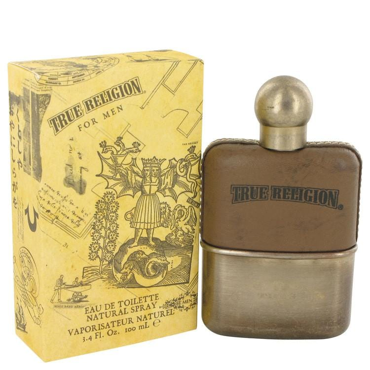 True Religion by True Religion Eau De Toilette Spray 3.4 oz for Men - Oliavery