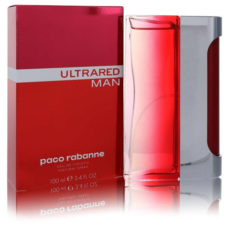 Ultrared by Paco Rabanne Eau De Toilette Spray 3.4 oz for Men - Oliavery