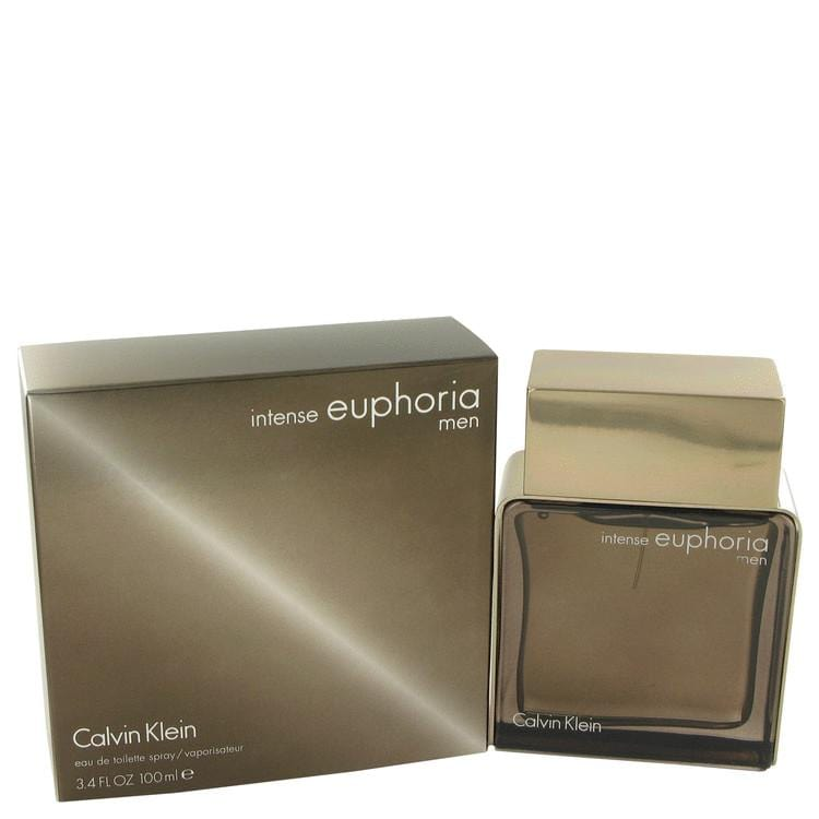 Euphoria Intense by Calvin Klein Eau De Toilette Spray 3.4 oz for Men - Oliavery