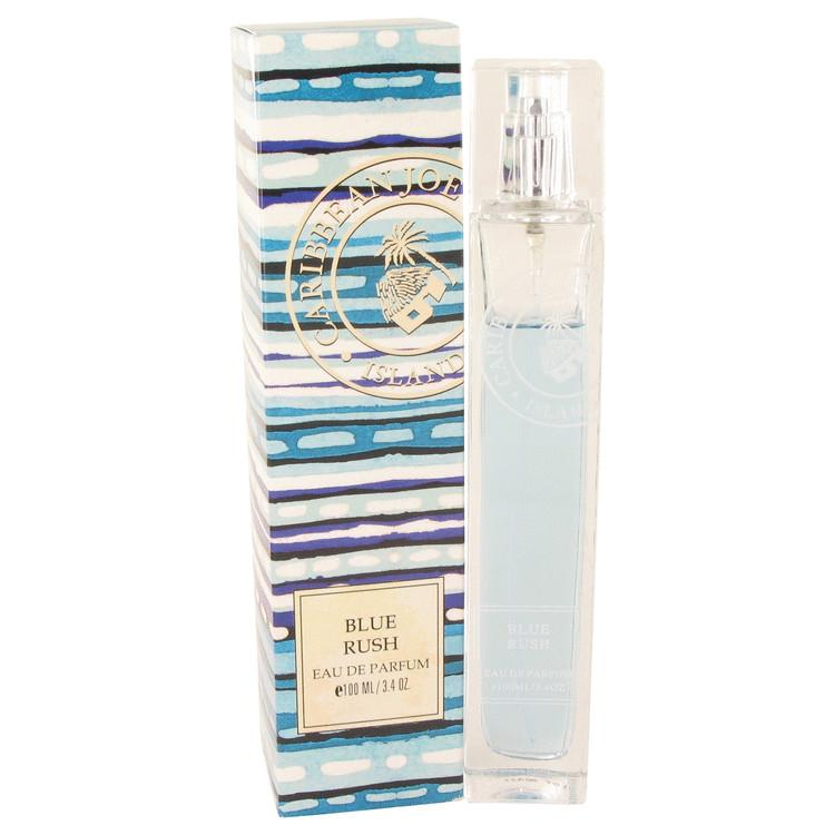 Blue Rush (Caribbean Joe) by Caribbean Joe Eau De Parfum Spray 3.4 oz for Women - Oliavery