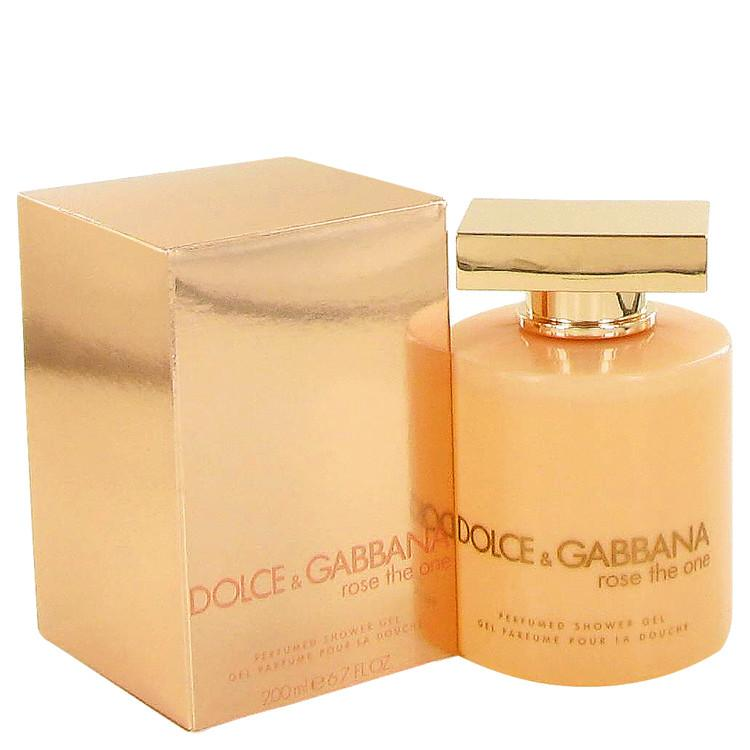 Rose The One by Dolce & Gabbana Shower Gel 6.8 oz for Women - Oliavery