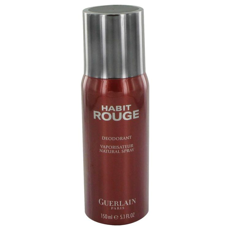 HABIT ROUGE by Guerlain Deodorant Spray 5 oz for Men - Oliavery
