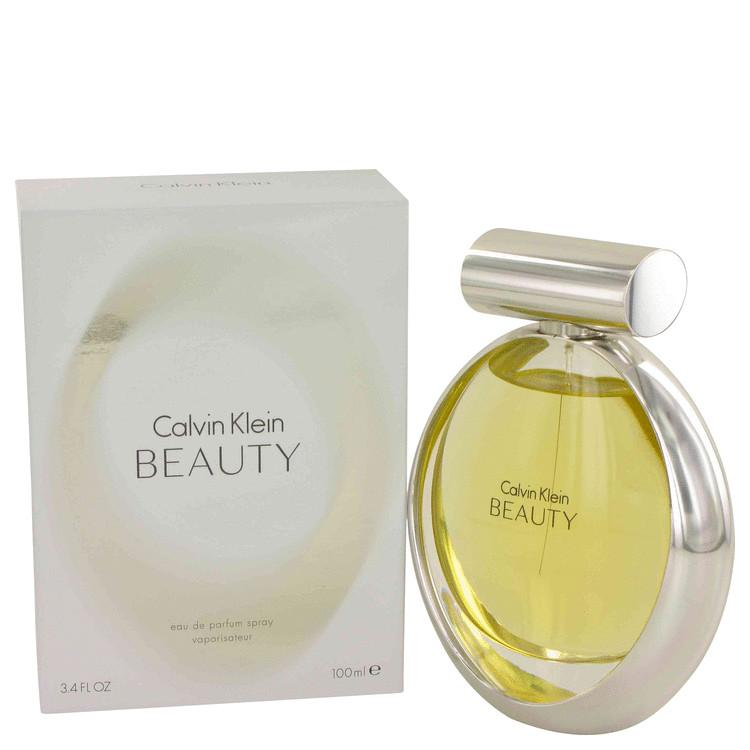 Beauty by Calvin Klein Eau De Parfum Spray 3.4 oz for Women - Oliavery