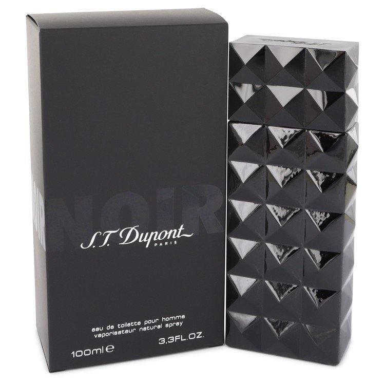 St Dupont Noir by St Dupont Eau De Toilette Spray 3.3 oz for Men - Oliavery