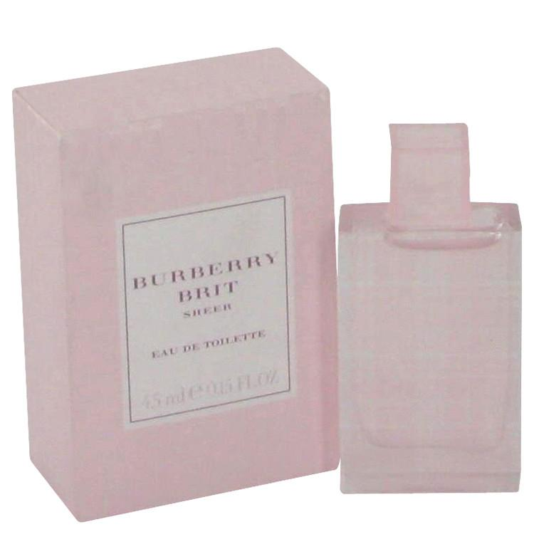 Burberry Brit Sheer by Burberry Mini EDT .17 oz for Women - Oliavery