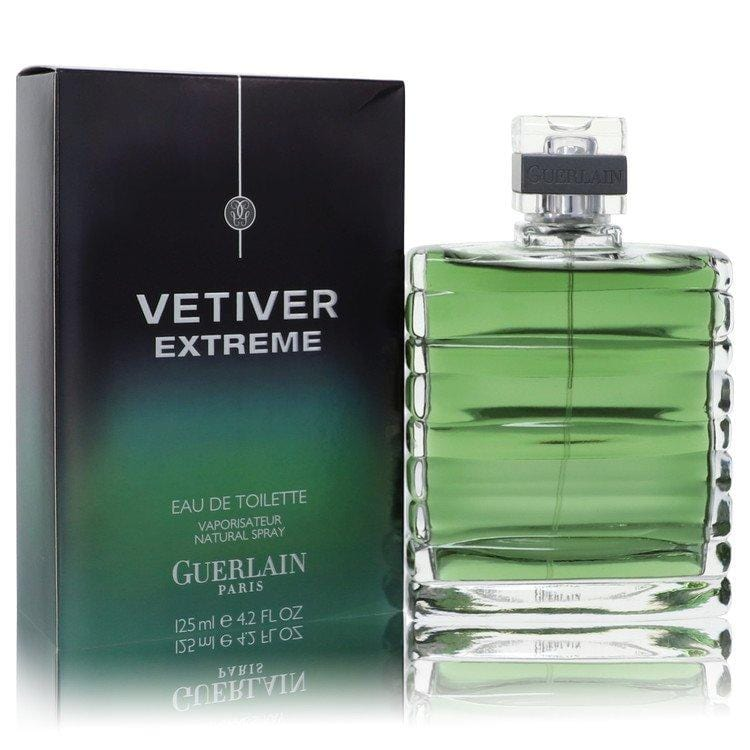 Vetiver Extreme by Guerlain Eau De Toilette Spray 4.2 oz for Men