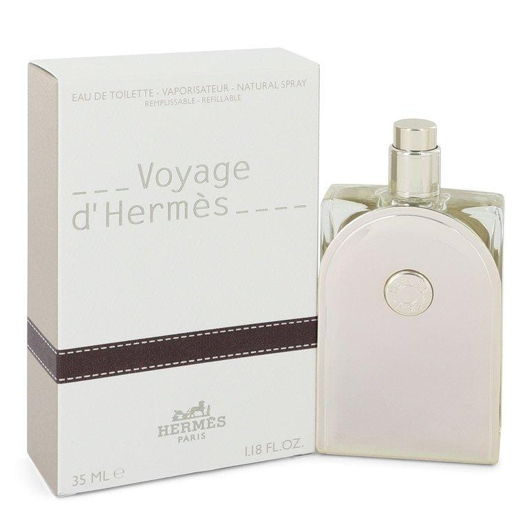 Voyage D'Hermes by Hermes Eau De Toilette Spray Refillable for Men - Oliavery