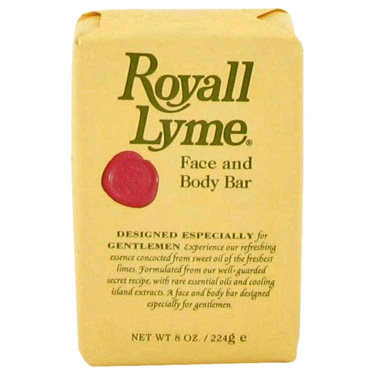 ROYALL LYME by Royall Fragrances Face and Body Bar Soap 8 oz for Men - Oliavery
