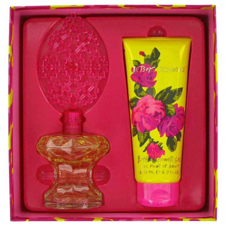 Betsey Johnson by Betsey Johnson Gift Set -- 3.4 oz Eau De Parfum Spray + 6.7 oz Shower Gel for Women - Oliavery