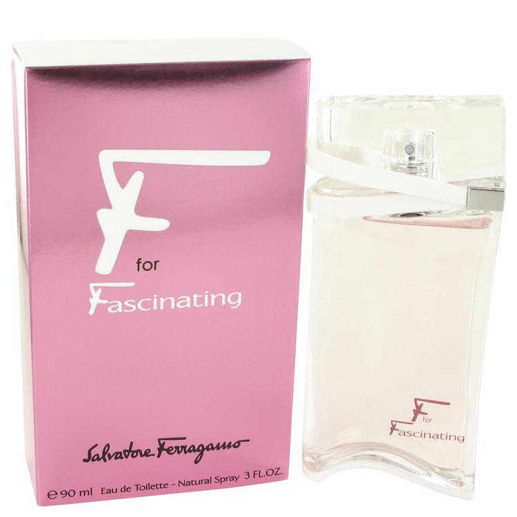 F for Fascinating by Salvatore Ferragamo Eau De Toilette Spray 3 oz for Women