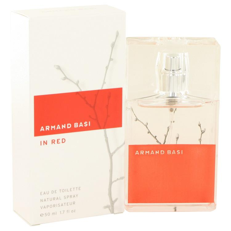 Armand Basi in Red by Armand Basi Eau De Toilette Spray 1.7 oz for Women - Oliavery