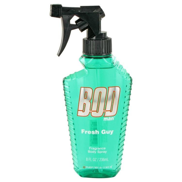 Bod Man Fresh Guy by Parfums De Coeur Fragrance Body Spray 8 oz for Men - Oliavery