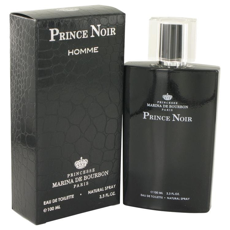 Prince Noir by Marina De Bourbon Eau De Toilette Spray 3.3 oz for Men - Oliavery