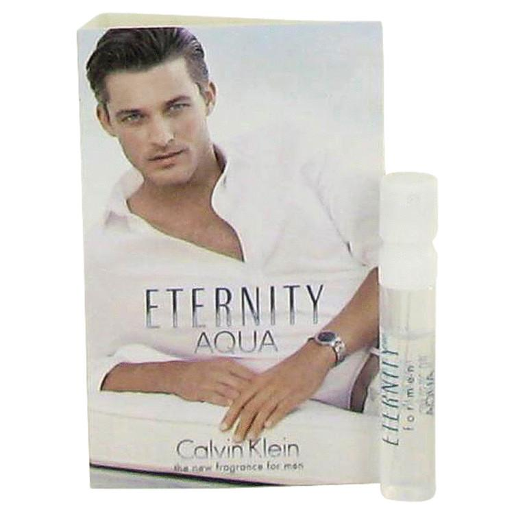 Eternity Aqua by Calvin Klein Vial (sample) .04 oz for Men