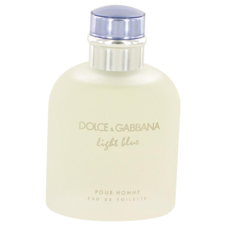 Light Blue by Dolce & Gabbana Eau De Toilette Spray (unboxed) 4.2 oz for Men - Oliavery