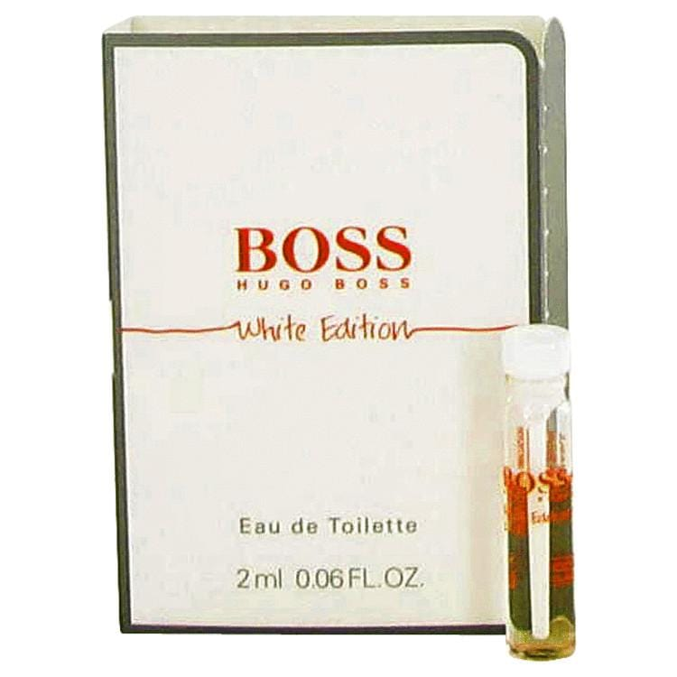 Boss In Motion White by Hugo Boss Vial (sample) .06 oz for Men