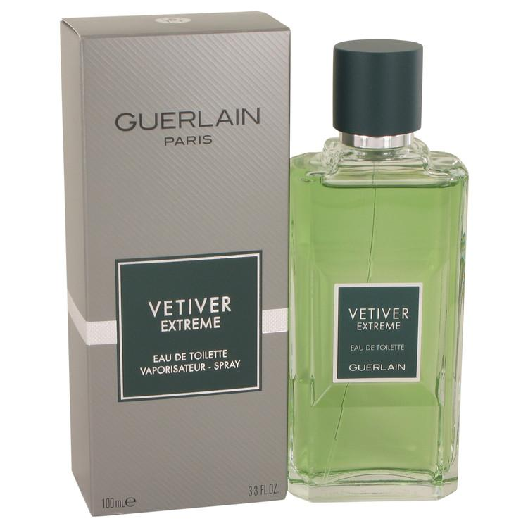 Vetiver Extreme by Guerlain Eau De Toilette Spray 3.4 oz for Men - Oliavery