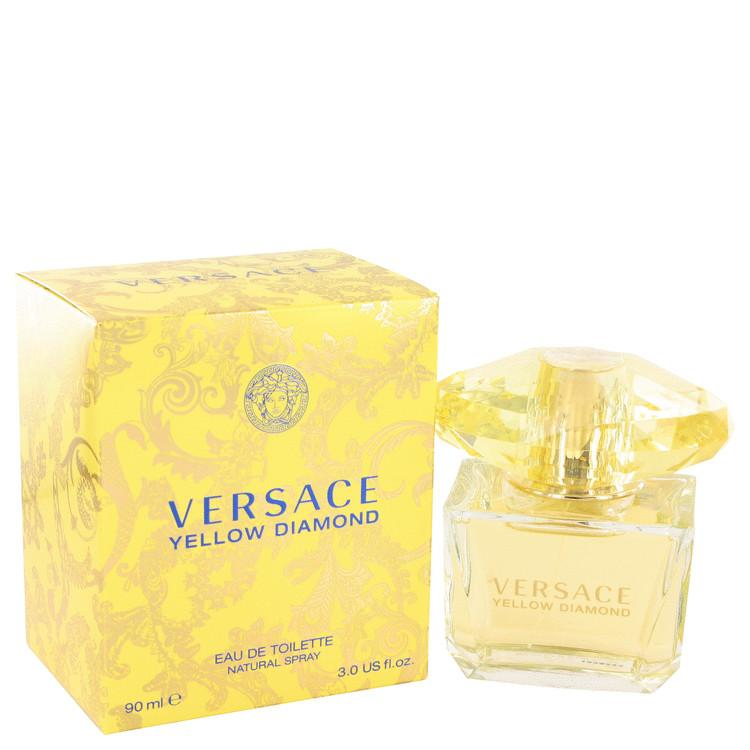 Versace Yellow Diamond by Versace Eau De Toilette Spray for Women - Oliavery