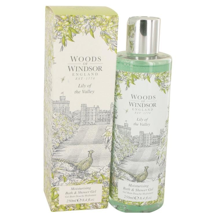 Lily of the Valley (Woods of Windsor) by Woods of Windsor Shower Gel 8.4 oz for Women - Oliavery